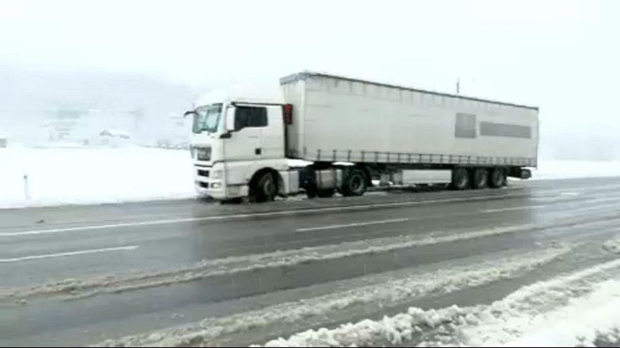 Első hó Ausztriában