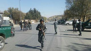 حمله داعش به دفتر شبکه تلویزیونی شمشاد در کابل