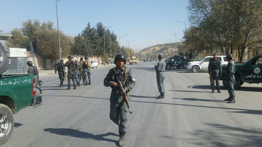 Fegyveresek támadtak meg egy kabuli tv-t