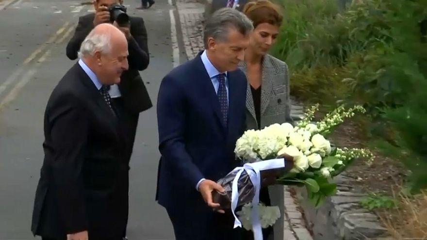 Sentido adiós de Argentina a los 5 fallecidos en el atentado de Nueva York