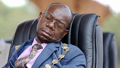 Zambians mock mayor of capital Lusaka for sleeping in public