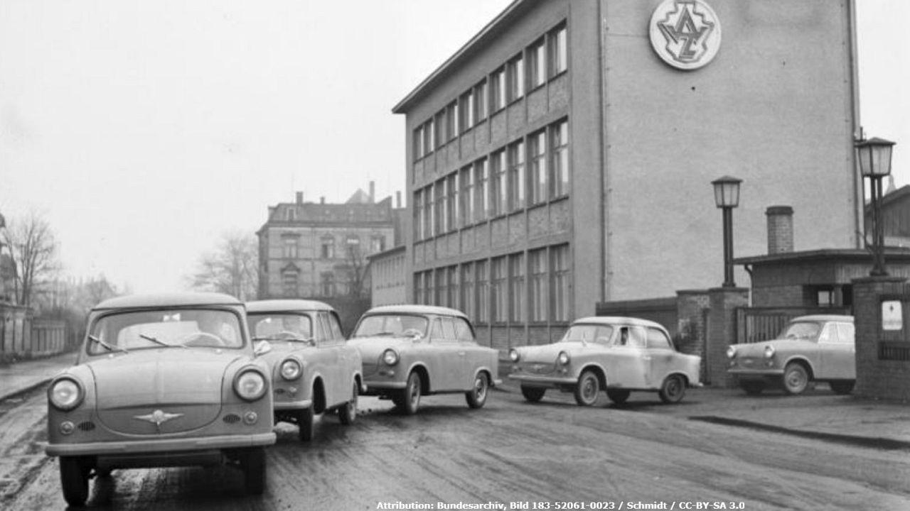 Alman otomobili Trabant 60 yaşında