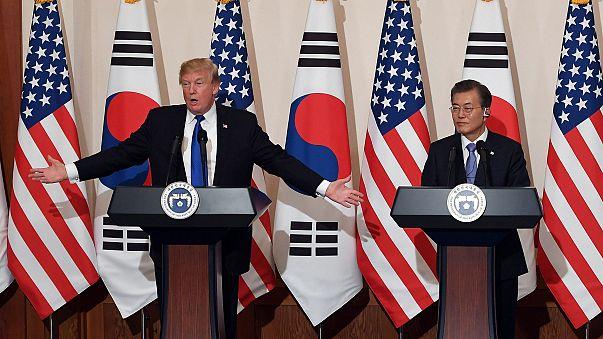 Trump insta a Corea del Norte a negociar su desnuclearización