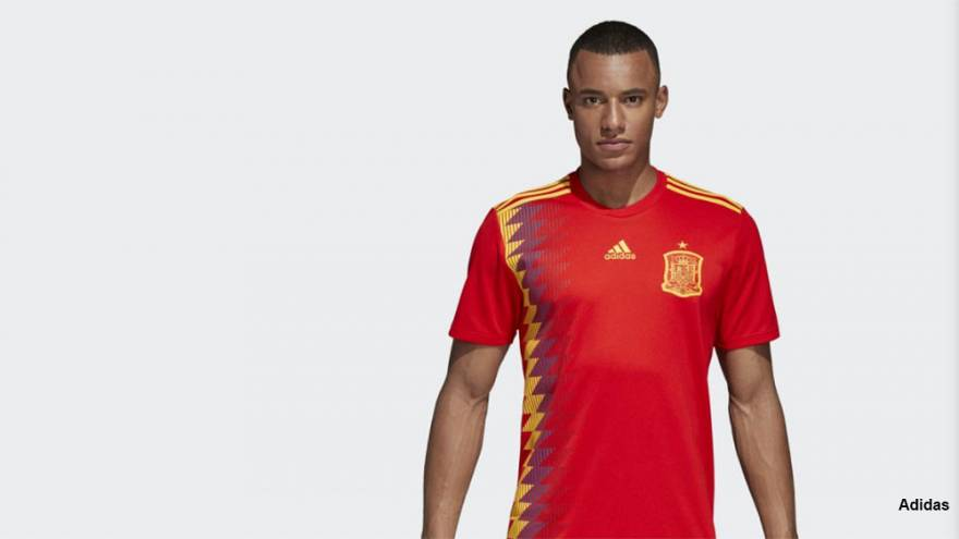 Adidas scores own goal in Spain with controversial football shirt