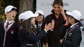 Melania Trump in South Korea