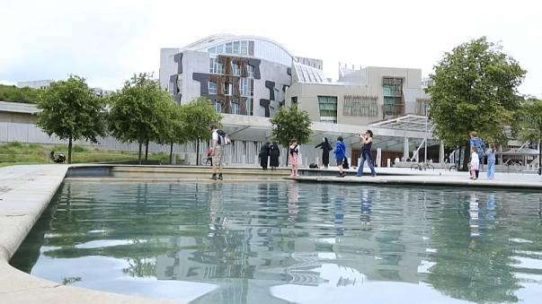 Scottish Parliament evacuated after suspicious package found