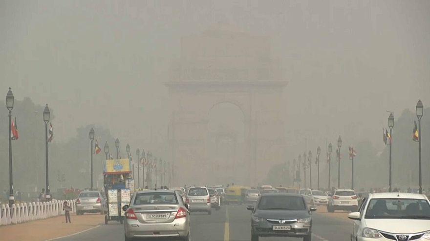 Emergência de saúde pública em Nova Deli
