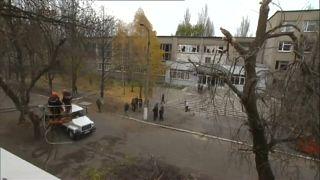Kind bei Bombardierung von Donezk getötet