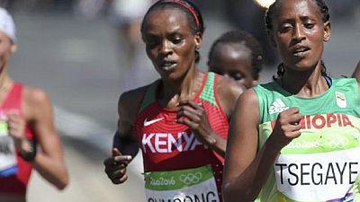 La championne olympique du marathon suspendue quatre ans — Athlétisme