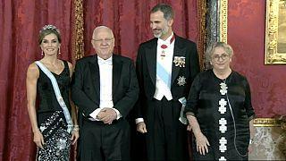 Was sagt er zu Katalonien? Israels Präsident in Spanien
