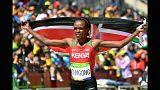 Campeã olímpica da maratona suspensa por doping