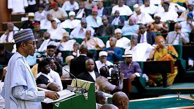 Buhari presents record $28 billion budget to lawmakers