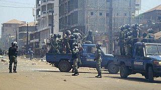 Guinée: des centaines de journalistes manifestent contre des violences de gendarmes