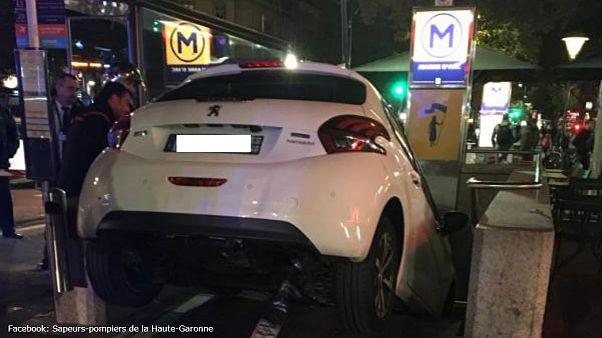 فرانسه؛ رانندهای که ایستگاه مترو را با پارکینگ اشتباه گرفت