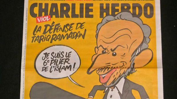 Morddrohungen & Sex-Skandal: Streit um Ramadan-Titel von Charlie Hebdo