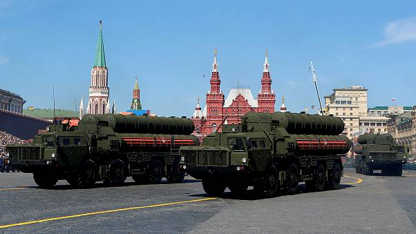 Image: S-400 missile air defense systems during a Victory Day parade in the