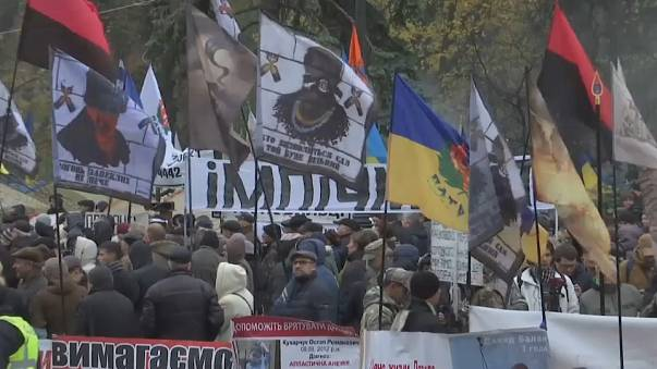 Ukrayna'da muhalefet meydanlarda
