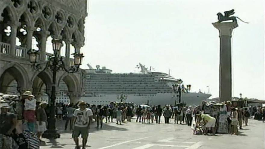 Ban on cruise ships in central Venice planned