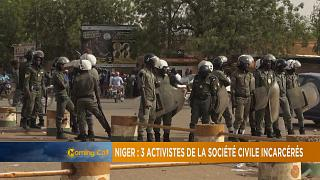 Niger : Trois activistes incarcérés [The Morning Call]
