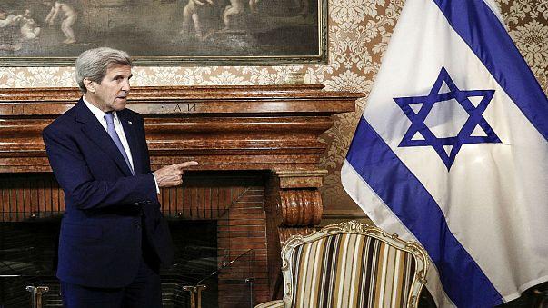 """تسجيل نادر لجون كيري:""""إسرائيل لا تريد السلام"""""""