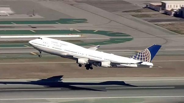 A Boeing 747-es utolsó útja a United Airlines-nál