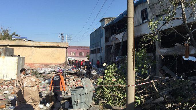 Bursa'da iplik-boya fabrikasında patlama: 5 ölü, 4 yaralı