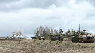 NATO defence ministers mull military build-up