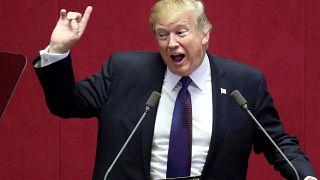 """ترامب يحذر نظام كوريا الشمالية """"المارق"""" من خطر جسيم"""