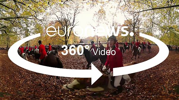 Hunt like a Dane: Experience the traditional Hubertus horse race in 360°
