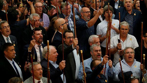 ¿Qué significa la vara de los alcaldes catalanes independentistas?