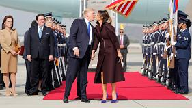 Dresscode-Diplomatie: Melania Trump in Asien