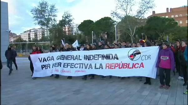 Всеобщая стачка в Каталонии