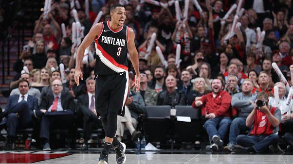 Zarpazo de los Grizzlies a los Blazers en la NBA