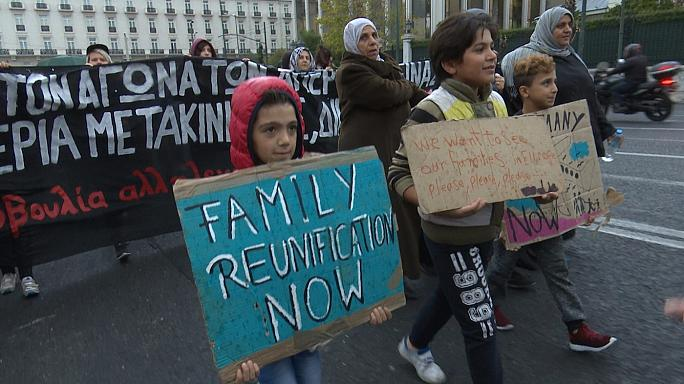 """""""Germany! Germany"""", lo sciopero della fame di 14 profughi bloccati in Grecia"""