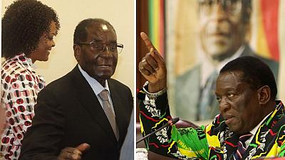 Mugabe says axed vice made consultations over his death date