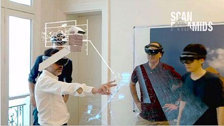 Un laboratoire de réalité virtuelle propose une visite à l'intérieur de la Grande Pyramide d'Égypte