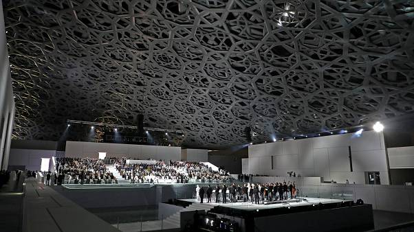 French president opens Louvre Abu Dhabi
