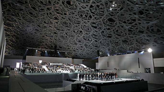 Inauguration du Louvre Abou Dhabi