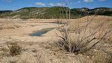 El Duero se seca a causa de la sequía
