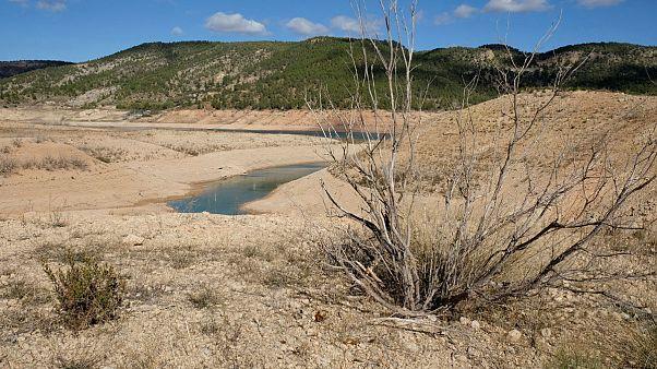 Il Duero semi vuoto. Record siccità nella Penisola Iberica