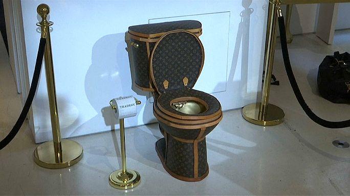للبيع: مرحاض من الذهب بمئة ألف دولار