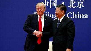 A kritikák helyett dicsérettel kezdett Donald Trump Pekingben