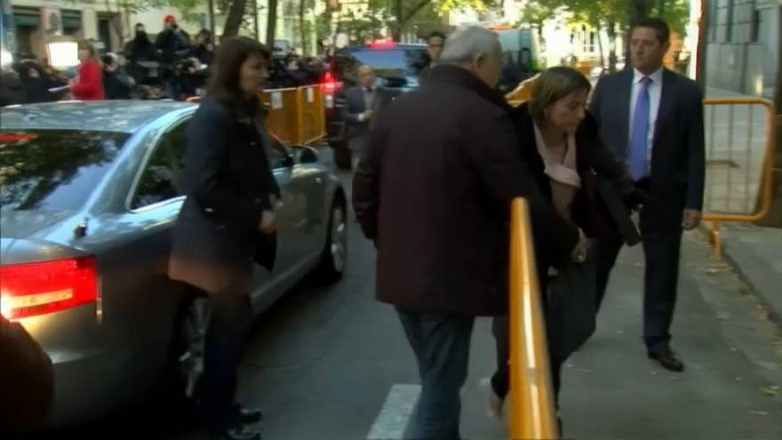Forcadell, la présidente du parlement catalan jugée