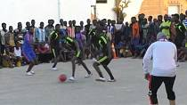 Un tournoi de football pour migrants en Libye [no comment]