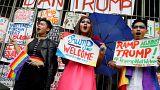 مانيلا: احتجاجات جماعية نسائية قبيل زيارة دونالد ترامب