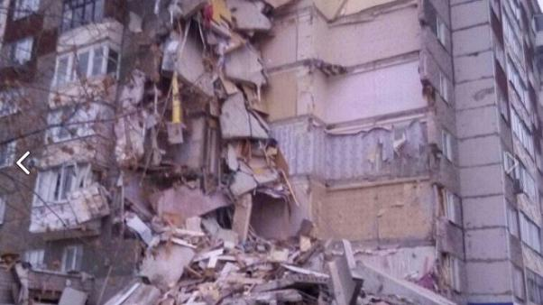 В Ижевске обрушился дом