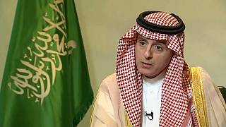 Saudi foreign minister calls for sanctions against Iran