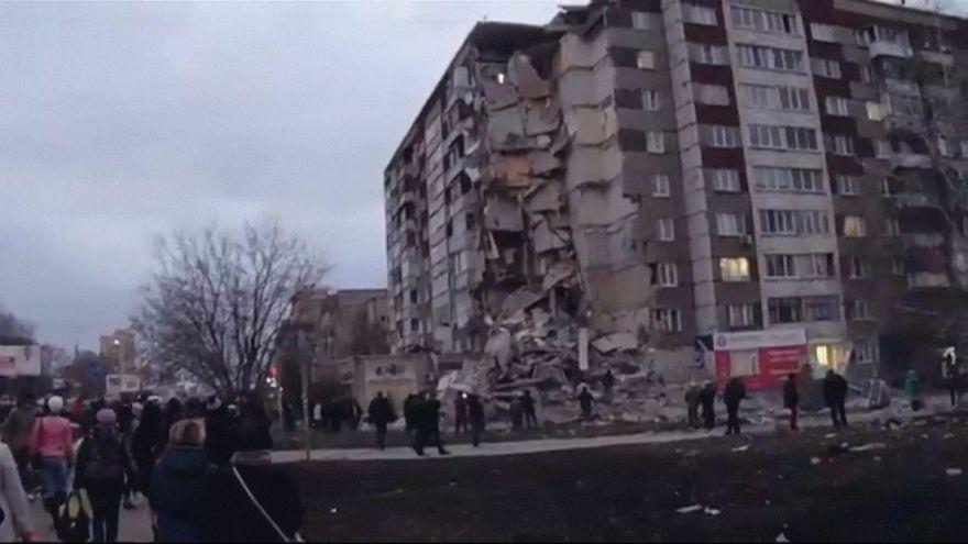 Обрушение дома в Ижевске: причина - бытовой газ?