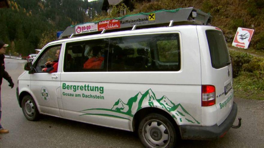 Rettung am Dachstein: Bergsteiger steckt 5 Tage in Felsspalte fest