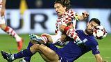 Croácia e Suíça mais perto do Mundial de futebol de 2018